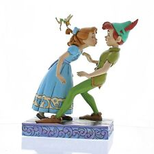 Disney Traditions An Unexpected Kiss - Peter Pan & Wendy Figurine