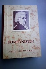 Kartenspiel - Quartett Komponisten 36 Blatt - F.X. Schmid - Spielkarten