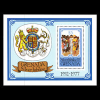 Grenada 1977 - 25th Anniv. of the Reign of Queen Elizabeth II s/s - Sc 793 MNH