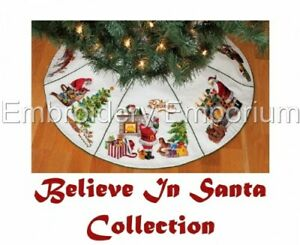 BELIEVE IN SANTA COLLECTION - MACHINE EMBROIDERY DESIGNS ON CD OR USB