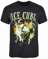 Ice Cube Mens Shirt Black Size 2XL Lightning Graphic Tee Short Sleeve $21 172