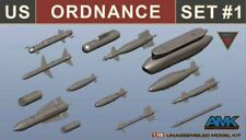 AMK MODEL KITS 1/48 US ORDNANCE WEAPONS SET FOR F14D #88007   880