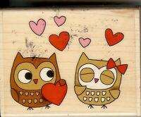 Penny Black Rubber Stamp, 4369H Owl always Love you B3
