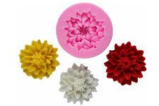 Molde de silicona Lotus Flor randdeko Cortapasta Decoración De Pastel Cocción