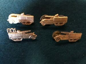 Group of WW2 US Army Officer's Tank Destroyer Uniform Insignias.