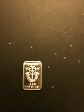 1 Gram .999 Silver Bar  Special Forces
