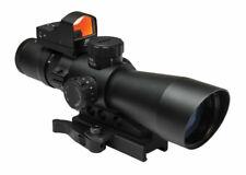 NcSTAR STM3942GDV2 Gen-2 3-9x42 MIL-DOT Sighting System - Black