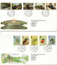 1985 Trains to Christmas First Day Cover Year Set