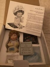Danbury Mint All Dolled Up Bonnet Babies Doll