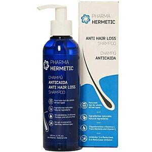 Pharma Hermetic anti hair loss shampoo, Stimulates Hair Growth, 200 ml