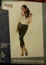 Grease Pink Ladies Jacket With Pants Adult Costume new large