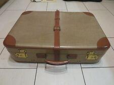 Alter sehr dekorativer Koffer SIPRA Deko Shabby Vintage Cabrio Sammler 50er