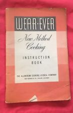 Bw317 Wear-Ever New Method Cooking Instruction Book 1940
