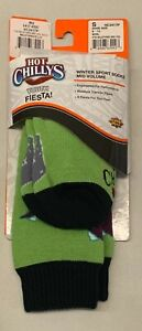 HOT CHILLYS WINTER SPORT SOCKS Youth Small (9-13) Wild Thing Shark Mid Vol NEW