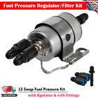 Fuel Pressure Regulator/Filter Kit- EFI or LS Swap w/6AN fitting For C5 Corvette