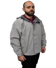 Men's silver  gray color jacket size ( L )