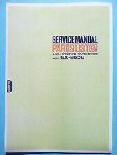 Service Manual-Anleitung für Akai GX-265D