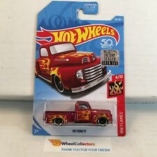 '49 Ford F1 #85 * RED * Limited FACTORY SET 2018 Hot Wheels * NG