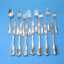 Wm A Rogers Oneida Gloria Stainless Flatware Silverware 15 Pieces Free Shipping