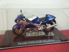 ATLAS SUPERBIKE COLLECTION SUZUKI GSX1300R HAYABUSA MOTORBIKE STILL IN CASE 1/24