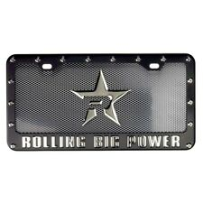 RBP BLACK POWDER LICENSE PLATE & FRAME FORD F150 F250 F350 PATHFINDER
