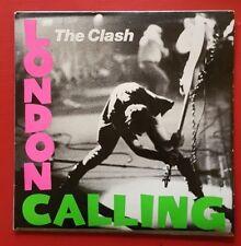 THE CLASH  London Calling  2 LP  - punk Alt - Aus press