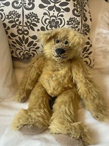 RUSS Mohair Humpback Jointed Colby Bear