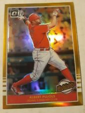 2019 Albert Pujols Optic Gold Highlghts #1/10 Anaheim Angels