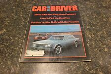 CAR AND DRIVER SEVILLE:CADILLAC ROLLS WITH THE PUNCHES #1 JULY 1975 VOL.21 #959