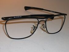 B&L RAY BAN W1308 SHINY BLACK SLEEK OLYMPIAN II DLX SUNGLASSES FRAMES ONLY MINT