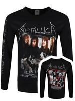 Metallica Garage Cover Men's Black Long Sleeve T-Shirt