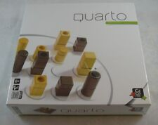 Quarto Board Game Gigamic France 1991 Factory Sealed Wooden Pieces Strategy