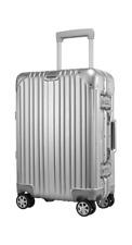 kruger matz,Średnia walizka aluminiowa na kółkach Kruger&Matz srebrna