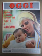 OGGI n°23 1965 Britt Eklund Mina Mazzini Gino Cervi Fernandel  [C54A]