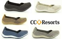CC Resorts shoes cloud comfort elastic SLIP ON walking shoe Sugar - 7 colours
