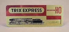 Trix Express H0 Ladenaufsteller Preisaufsteller aus Messing 8cm x 3cm