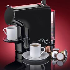 Espresso Coffee Maker Machine Caffè Brio - VTC Dispenser & Energy Saver Eco-Mode