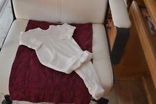 salopette bonpoint 1 mois naissance blanc ou dors bien