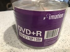DVD-R Media Discs, New In Package,  50 pcs, Imation Brand.
