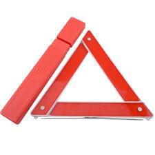 Car Emergency Breakdown Warning Triangle Red Reflective Safety Hazard Travel Set