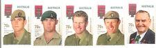 Australia-Victoria Cross mnh set of 5(gummed issue)2015 - military