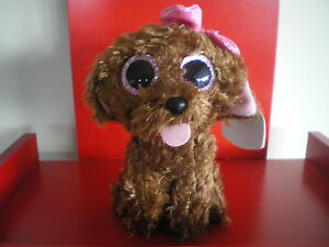 Ty Beanie Boos MADDIE the dog. 6 inch NWMT. Claire's Exclusive. VERY CUTE!