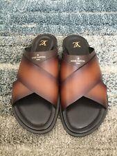 Louis Vuitton  Paris Sandals Made In Italy Size 14 Men's US.