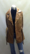 PELLE WILSONS Ladies Leather Coat Size Extra Small