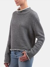 Rag & Bone Madeleine Turtleneck Sweater In Gray NWT Xs