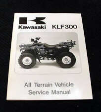 1986-1987 KAWASAKI KLF300 ALL TERRAIN VEHICLE VEHICLE SERVICE REPAIR MANUAL
