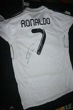 CRISTIANO RONALDO SIGNED REAL MADRID JERSEY DC/COA (NEW WITH TAGS) RARE