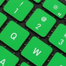 """REDUCE OVERHEAT ! GREEN Silicone Keyboard Cover for Macbook Pro 13"""" A1278"""