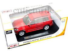 Maisto Mercedes Benz GLK Class 1:18 Diecast Model Car 36200 Red
