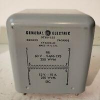 Vintage General Electric Transformer 9T35Y152 TF1AO1LB see pics Y152 U.S.A. #15